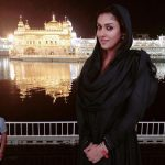 Nayanthara, Goldan temple, Vignesh Shivan, Black Dress, Night