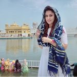 Nayanthara, Goldan temple, Vignesh Shivan, White Dress, morning
