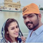 Nayanthara, Goldan temple, Vignesh Shivan, selfie, commited