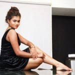 Neethu Vasudevan, Black Fit, seductive