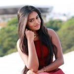 Neethu Vasudevan, photo shoot, red dress, terrors