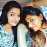 Nithya Ram, Asathal Chutties, selfie, car