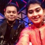 Nithyashree, singer, vijay tv, AR Rahman, selfie