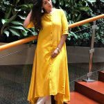 Nivetha Pethuraj, full size, yellow dress