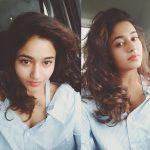 Poonam Bajwa, selfie, hair style, car