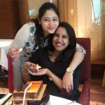 Priya Mohan, Priya Atlee, friend, cake, fantastic