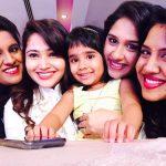 Priya Mohan, Priya Atlee, friends, small baby