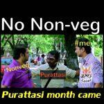 Purattasi maasam, funny memes, Tamil troll Abot Non veg (2)
