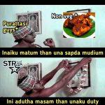 Purattasi maasam, funny memes, paridhabangal, non veg, veg (1)
