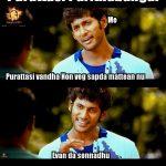 Purattasi maasam, funny memes, paridhabangal, non veg, veg (2)