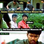 Purattasi maasam, funny memes, paridhabangal, non veg, veg (3)
