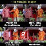 Purattasi maasam, funny memes, paridhabangal, non veg, veg (4)
