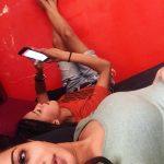 Raiza Wilson, Unseen Selfies, glamour, friend