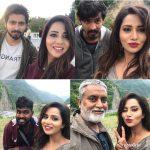 Raiza Wilson, top 10 Selfies, pyaar prema kaadhal, shooting spot