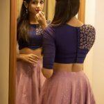 Riya Suman, Telugu Glamour Actress, back side, lipstick