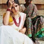 Roshni Prakash, kerala saree, appealing