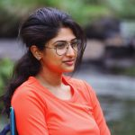 Roshni Prakash, orange t shirt