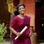 Saamy 2 aka Saamy Square, Aishwarya Rajesh, Red Saree, wife