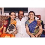 Sanchana Natarajan, Nota Actress, family, mother, dad