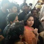 Sangeetha Vijay, crowd, rip