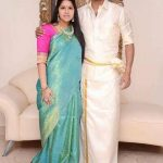Sangeetha Vijay,  diwali, vijay in vesti