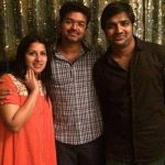 Sangeetha Vijay, thalapathy, sathish, friends