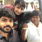 Shirish Sharavanan, actor senthil, sathish, shooting, Pistha