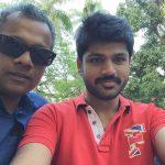 Shirish Sharavanan, gautham menon, selfie