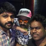 Shirish Sharavanan, selfie, yuvan, str, simbu