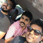 Shirish Sharavanan, yuvan shankar raja, selfie, friends