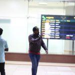 Str, Simbu, Silambarasan, entry, airport