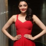 Top 10 Tamil Spicy Heroines, Kajal Aggarwal, red dress