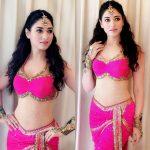 Top 10 Tamil Spicy Heroines, Thamannah, Pink bra