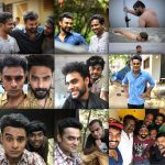 Tovino Thomas, selfie, collage, friends, Theevandi