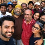 Tovino Thomas, shooting, movie, team