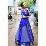 Vani Bhojan, full size, blue dress