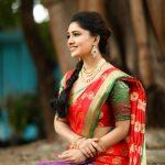 Vani Bhojan, saree, shy, latest, hd, Kings of Comedy Juniorsis
