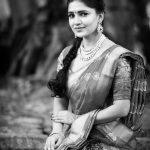 Vani Bhojan, saree, unseen, hd, rare