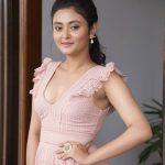 Varma Teaser Launch, Megha Chowdhury, cute heroine