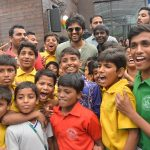 Vijay Deverakonda, smile, children, nota movie