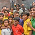 Vijay Deverakonda, smile, children, nota movie