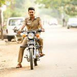 Vishnu Vishal, Raatchasan film, police bike