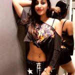 Yashika Anand, dressing room
