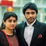 vikram prabhu, Lakshmi Ujjaini, couple