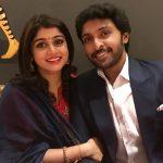 vikram prabhu, event, award, Lakshmi Ujjaini, wife