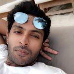 vikram prabhu, latest, selfie, Thuppakki Munai