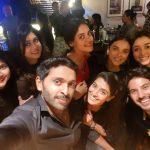 vikram prabhu, selfie, actress, wife
