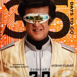 2.0, enthiran 2, 2 point 0, rajinikanth, robo exclusive posters, 30 days