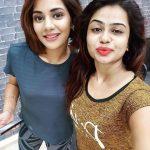 Aishwarya Dutta, selfie, friends, dazzling