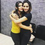 Aishwarya Dutta, yaashika anand, hug